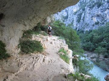 Klettersteig Verdon : Action urlaub in der größten schlucht europas gorges du verdon